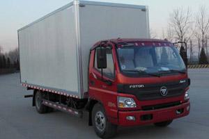 福田欧马可3系标载版4500轴距 156马力 4×2厢式轻卡(BJ5089XXY-F4)