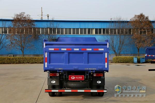 福田 时代金刚 95马力 4X2 3.5米自卸车高清图片