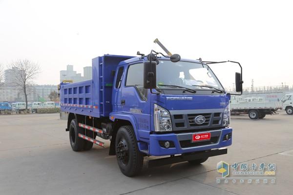 福田时代金刚 110马力 4X2 3.9米自卸汽车高清图片