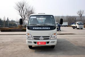 福田时代 小卡之星3 88马力 3.25米排半栏板载货车