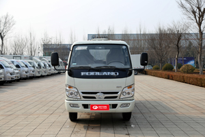 福田时代 小卡之星3 88马力 3.25米双排栏板载货车