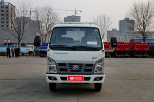 福田时代骁运3 82马力 3.67米单排平板自卸汽车
