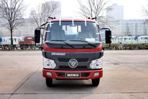 福田时代骁运 110马力 4.15米单排平板自卸汽车