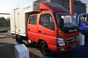 福田奥铃TX价值版 L1995 轴距3360 4X2 排半 厢式