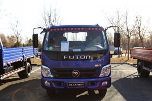 福田奥铃捷运 82马力 4X2单排平板载货车