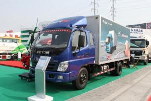 福田奥铃CTX科技版 154马力 4×2排半 厢式载货车(4700轴距)