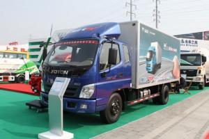 福田奥铃CTX经典版 168马力 4×2排半 厢式载货车(5600轴距)