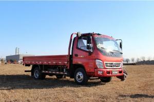 福田奥铃CTX科技版 154马力 4×2单排 平板载货车(3800轴距)