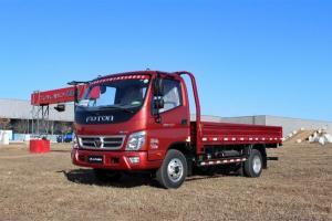福田奥铃CTX科技版 141马力 4×2单排 平板载货车(3360轴距)