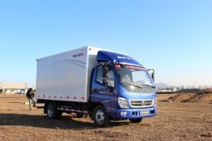 福田奥铃CTX科技版 117马力 4×2排半 厢式载货车(3360轴距 L1995)