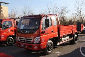 福田奥铃CTX经典版 154马力 4×2排半 平板载货车(5200轴距 L2200)