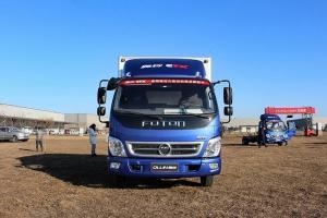 福田奥铃CTX经典版 117马力 4×2排半 厢式载货车(L1995)