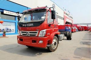 福田奥铃CTX科技版 154马力 4×2单排 厢式载货车