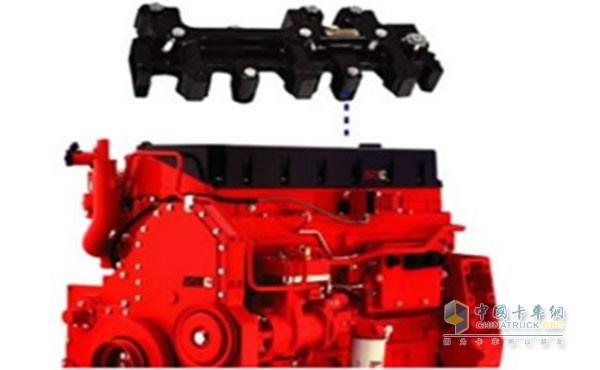 西安康明斯ism11升发动机制动系统