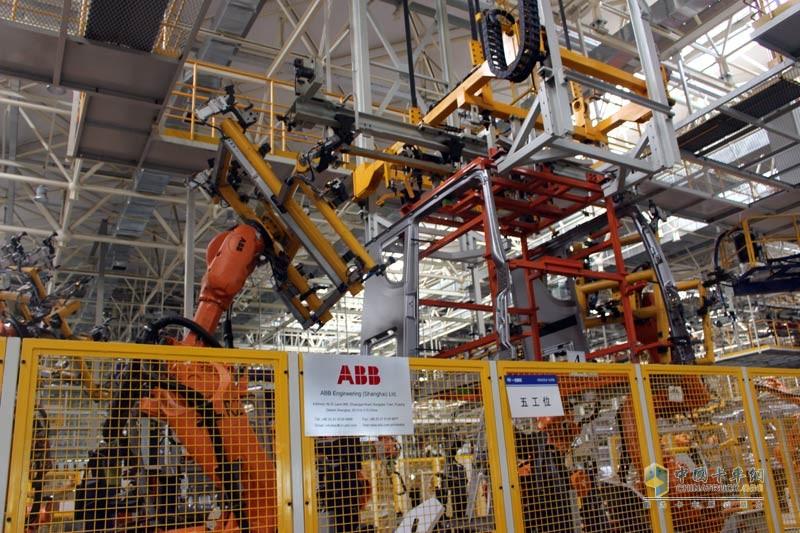 ABB机械手焊接