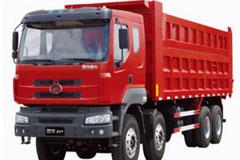东风柳汽 霸龙重卡 290马力 8×4 自卸车LZ3313PEF