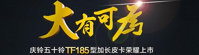 庆铃五十铃TF185加长型皮卡荣耀上市