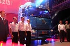 [解放卡车60年]解放卡车诞生60周年暨纪念版车型下线仪式