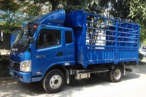 奥驰X2系列 95马力 3.85米排半仓栅轻卡(FD5040CCYW10K)
