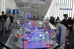 美蓓亚集团携环保产品亮相上海车展