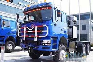 陕汽德龙F3000 550马力 6X6大件牵引车