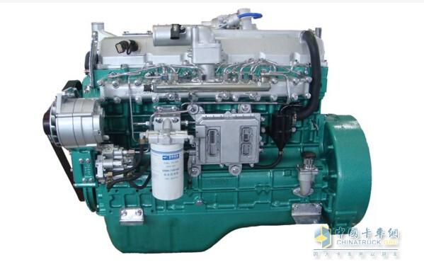 玉柴柴油发动机的结构图