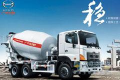 广汽日野 700系列 350马力 6×4 混凝土搅拌车