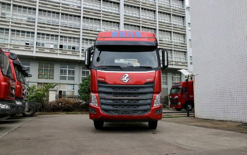 东风柳汽 乘龙h7 450马力 6x4 牵引车(lz4251m7da)(红色)