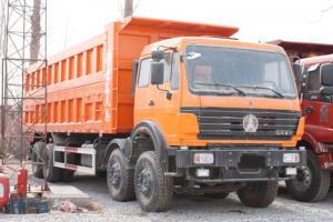 北奔 NG80B系列重卡 330马力 8X4天然气自卸车(ND33103D46J)