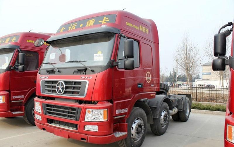 大运n8h重卡 430马力 6x4牵引车(cgc4250wd44)