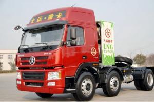 大运 N8E重卡 330马力 6X2天然气牵引车(CGC4253N4XB)