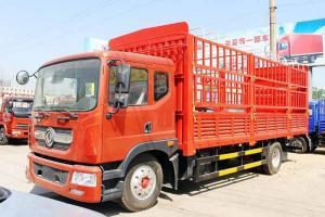 东风多利卡D9中卡 160马力 4X2 6.8米仓栅式载货车(DFA5161CCYL10D7AC)