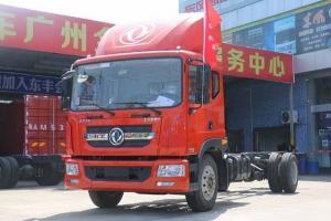东风多利卡D9中卡 180马力 4X2 5200轴距载货车底盘(DFA1162LJ10D7)