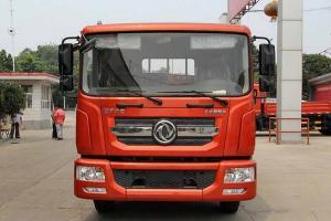 东风多利卡D9中卡 160马力 4X2 6.2米排半栏板载货车(DFA1140L10D6)