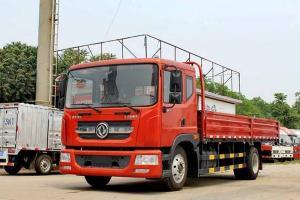 东风多利卡D9中卡 160马力 4X2 6.8米排半栏板载货车(DFA1140L10D7)