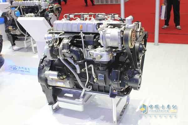 柴油机发动机动力结构图