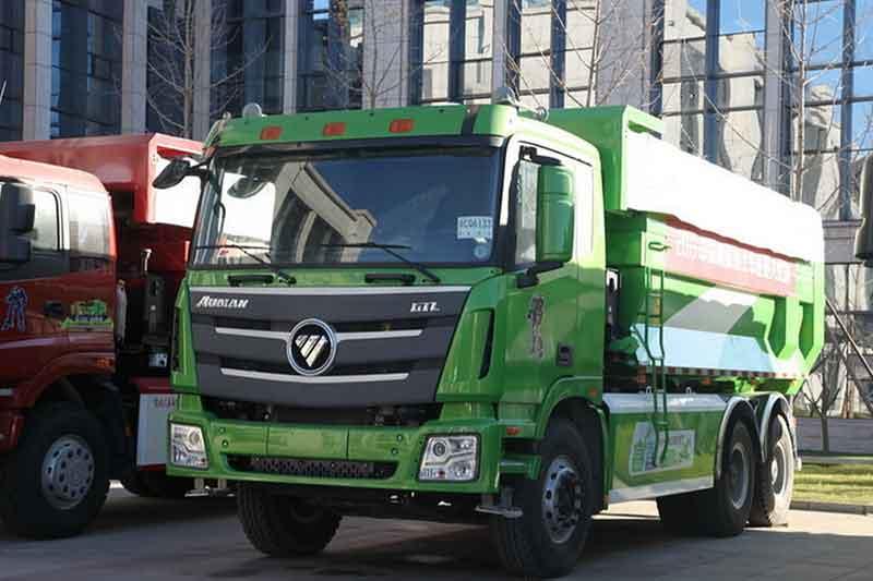 福田戴姆勒欧曼gtl 9系重卡 430马力 6x4自卸车(运输型)(bj3259dlpke图片