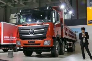 福田戴姆勒欧曼GTL 6系准重卡 310马力 8X4自卸车(BJ3319DNPKC-XA)