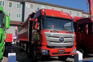 福田戴姆勒欧曼GTL 9系重卡 375马力 8X4自卸车(BJ3319DMPKJ-AB)