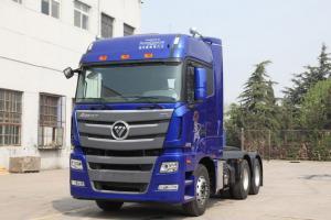 福戴姆勒欧曼GTL 超能版 6系重卡 430马力 6X4牵引车(平地板)(BJ4259SNFKB)