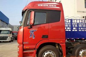 福田戴姆勒欧曼GTL 6系重卡 平原型 350马力 8X4仓栅式载货车(BJ5319CCY-XH)