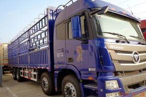福田戴姆勒欧曼GTL 6系重卡 超能版 320马力 8X4 9.53米仓栅式载货车(BJ5319CCY-AA)