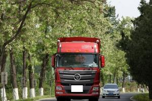 福田戴姆勒欧曼GTL 6系重卡 超能版 360马力 8X4 9.53米载货车(459后桥)(BJ1319VNPKJ-AA)