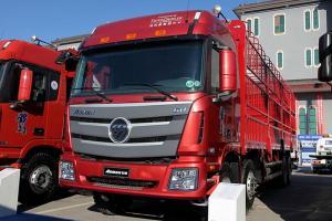 福田戴姆勒欧曼GTL 6系重卡 超能版 山区型 360马力 8X4 9.53米仓栅式载货车(BJ5319CCY-AA)
