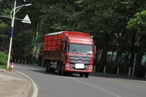 福田戴姆勒欧曼GTL 9系 山区型 400马力 8X4 9.53米仓栅式载货车(BJ5319CCY-XH)