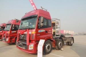 福田戴姆勒欧曼ETX 6系重卡 350马力 6X2LNG牵引车(BJ4253SNFCB-AA)