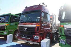 福田戴姆勒欧曼ETX 5系重卡 336马力 6X2LNG牵引车(BJ4252SNFCB-XA)