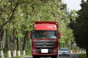 福田戴姆勒欧曼GTL 9系重卡 山区型 400马力 8X4 9.53米厢式载货车(BJ5319XXY-XH)