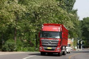 福田戴姆勒欧曼GTL 6系重卡 超能版 山区型 350马力 8X4仓栅式载货车(BJ1319VPPKJ-XC)