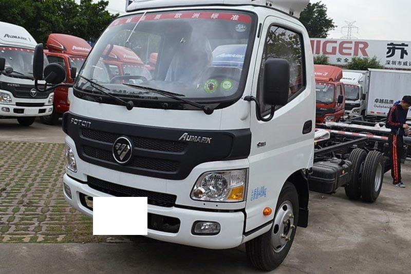 福田欧马可1系 118马力 4X2 3360轴距单排轻卡底盘(BJ1049V9JD6-F5)